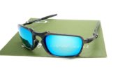 Badman Black Grey Lens Light Blue Polarized