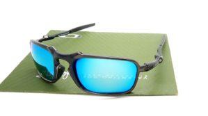 Badman Black Grey Lens Light Blue Polarized