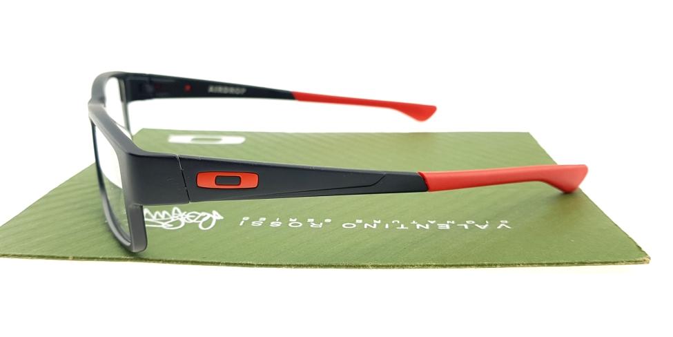 Frame Oakley Airdrop Satin Black Red