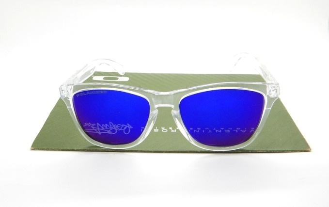 Frogskin Clear Blue Violet