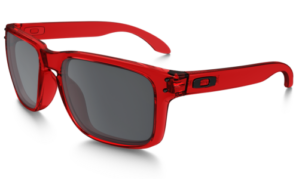 Holbrook Crystal Red Lens Black