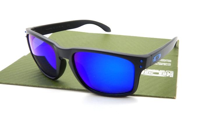 black and blue oakley sunglasses wseu  oakley holbrook blue lenses