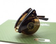Club Master Folding Tortoise Brown