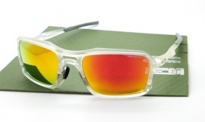 Triggerman Matte Clear Lens Ruby Iridium