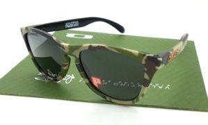 Frogskin Koston Black LX Lens Dark Grey