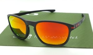 OAKLEY Enduro Black Ducati Fire Polarized