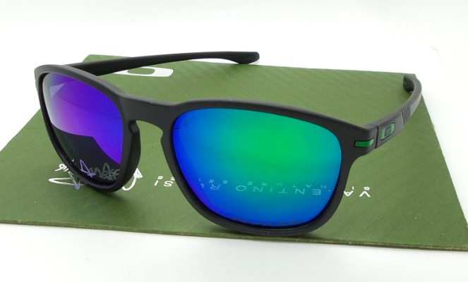 OAKLEY Enduro Black Emerlard Polarized
