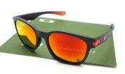 OAKLEY Garage Rock Matte Black Ferrari Fire Polarized