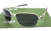 Oakley C Wire Silver lens Black Polarized