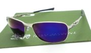 Oakley C Wire Silver lens Blue Polarized