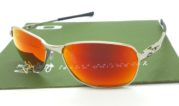 Oakley C Wire Silver lens Fire Polarized