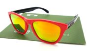 Oakley Frogskin HERITAGE Black Red POLARIZED