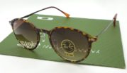 Ray Ban 4224 Round Light Ray Tortoise Lens Brown