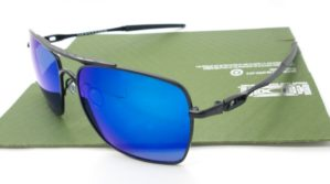 OAKLEY Deviation Black Blue Polarized