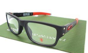 OAKLEY Muffler Matte Black Red Scuderia Ferrari