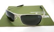 OAKLEY Crosshair 2.0 Matte Silver Lens Black