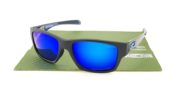 OAKLEY Jupiter Carbon Black Blue Lens Blue