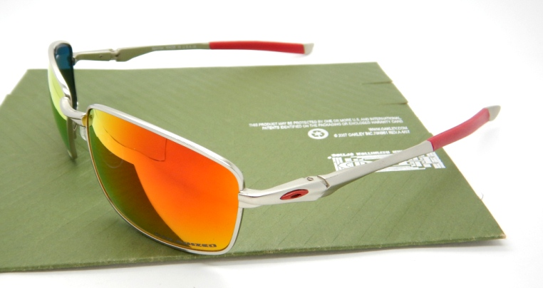 OAKLEY Splinter Silver Ducati Lens Fire-1