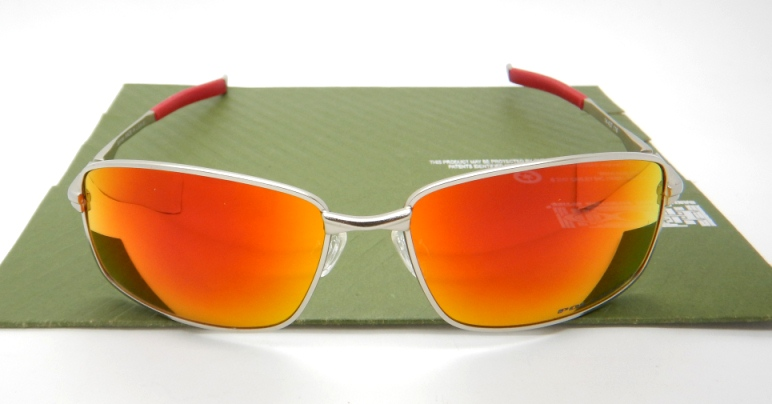 OAKLEY Splinter Silver Ducati Lens Fire