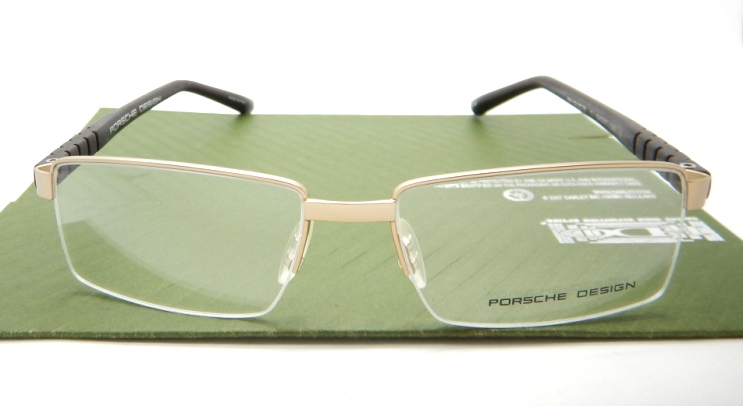 Porsche Design P81363 Gold Brown