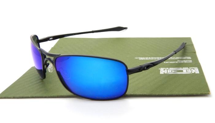 OAKLEY Crosshair 2.0 Black Lens Blue