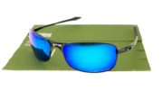 OAKLEY Crosshair 2.0 Black Lens Blue