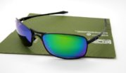 OAKLEY Crosshair 2.0 Black Lens Emerlard