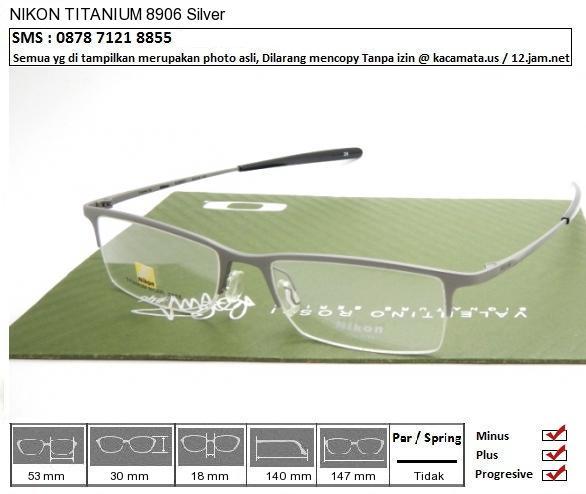 NIKON TITANIUM 8906 Silver