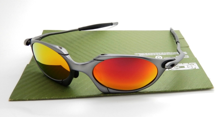 OAKLEY Romeo Carbon Lens Fire Polarized
