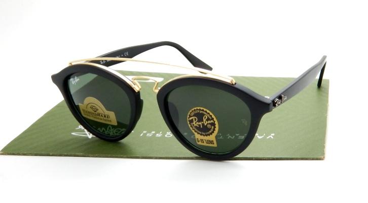 Detail Produk RayBan 4257 Gatsby II Matte Black Green Classic 447e266282