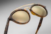 RayBan 4257 Gatsby II Matte Havana Gold Mirrored