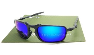 Badman Black Lens Blue Polarized