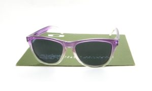 FROGSKIN Purple Clear Fade POLARIZED