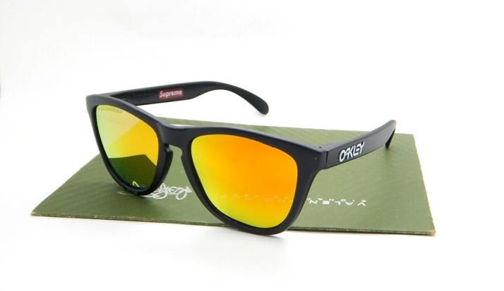 FROGSKIN SUPRAME Matte Black Fire POLARIZED