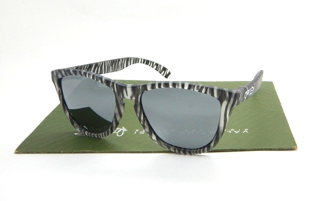 Frogskins Urban Jungle Matte Clear Chrome Iridium