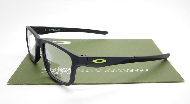 Oakley Frame Hyperlink Matte Black Lime