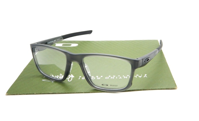 Oakley Frame Hyperlink Matte Grey Clear