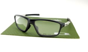 Frame Crosslink Zero Satin Black Clear