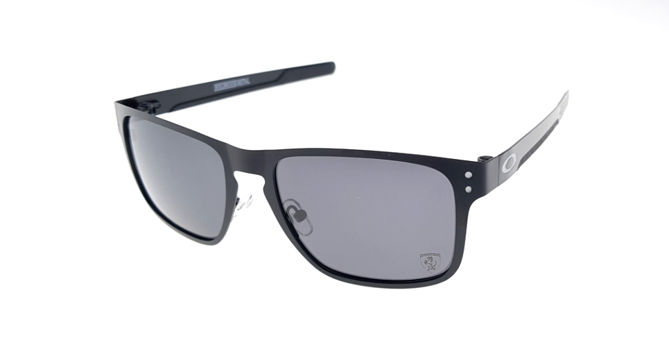 Holbrook Metal Black Lens Black Polarized