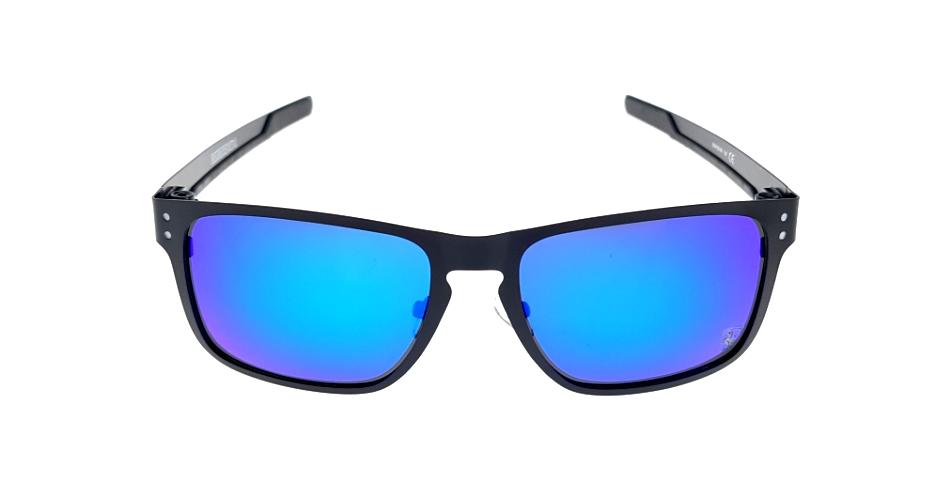 Holbrook Metal Black Lens Blue Polarized