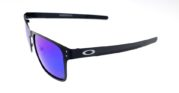 Holbrook Metal Black Lens Blue Polarized