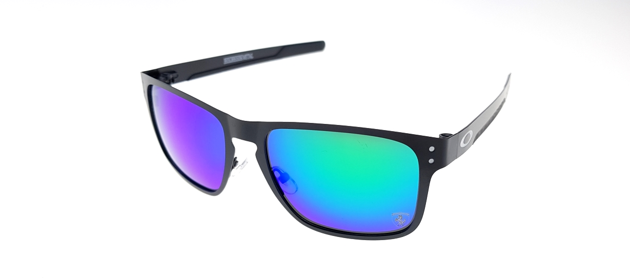 Holbrook Metal Black Lens Tosca Polarized