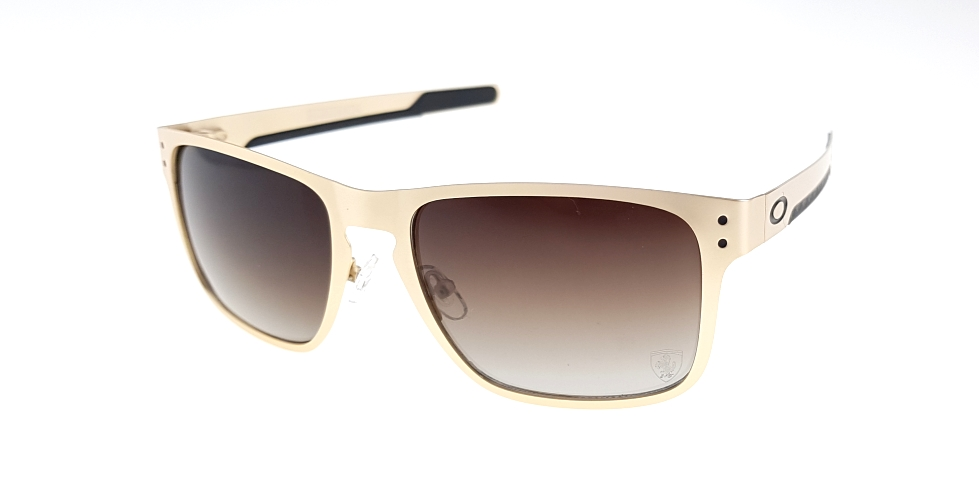 Holbrook Metal Gold Lens Brown Polarized