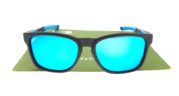 OAKLEY CATALYST Black Blue Lens Blue