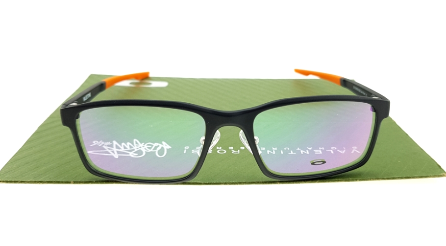 Oakley Milestone Matte Black Orange