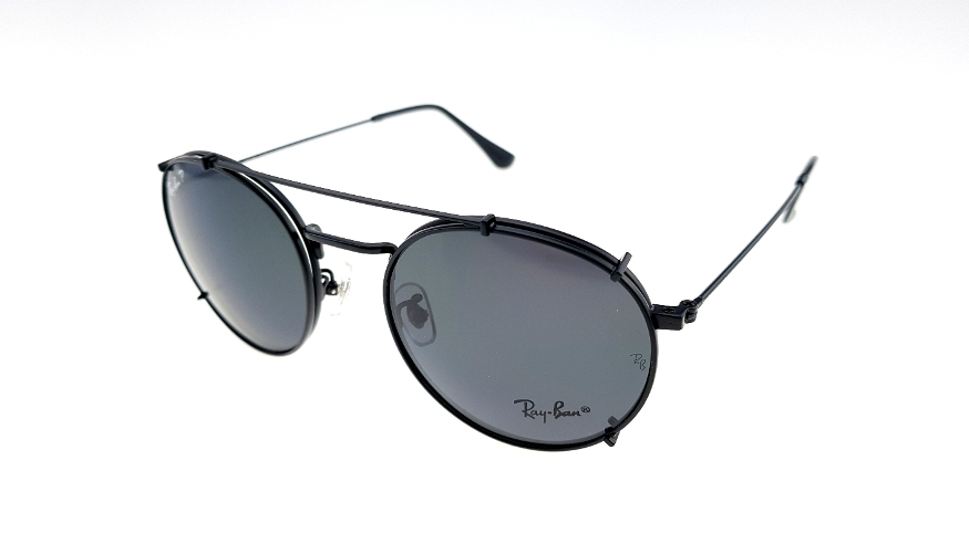 1f107fd3c1 cheap ray ban sunglasses rb8012 83775 bc5dc  spain rayban club round fleck  clip on black polarized e6b14 c7f1b