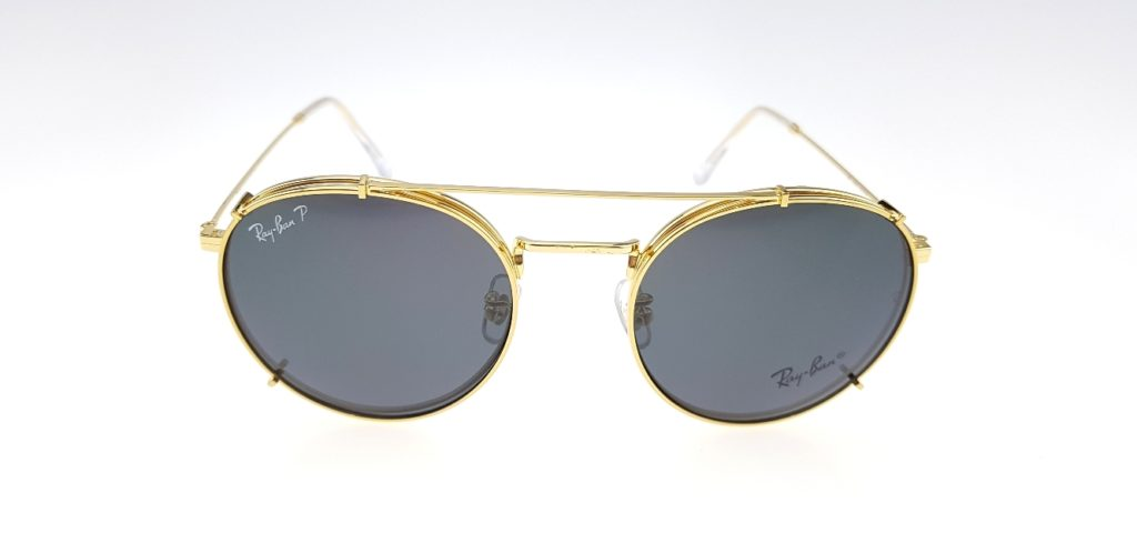 d41df3b7e5 ... where to buy detail produk rayban club round fleck clip on gold black  polarized 609e4 f88f6