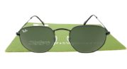Ray Ban 3548 Hexagonal Black Lens G15