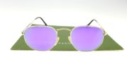 Ray Ban 3548 Hexagonal Gold Lens Violet