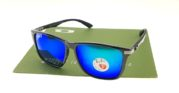 Ray Ban 4129 Highstreet Carbon Shiny Black Lens Tosca Polarized